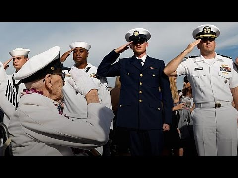 Pearl Harbor: America marks 75-year anniversary of Japan attack