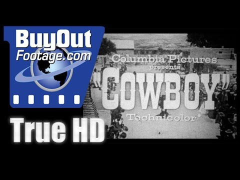 Cowboy - 1958 HD Film Trailer