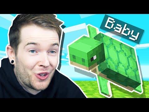 I Got BABY TURTLES In Minecraft Hardcore!