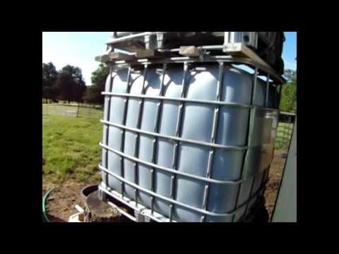 DIY Water Tower - Amazing Pressure!!