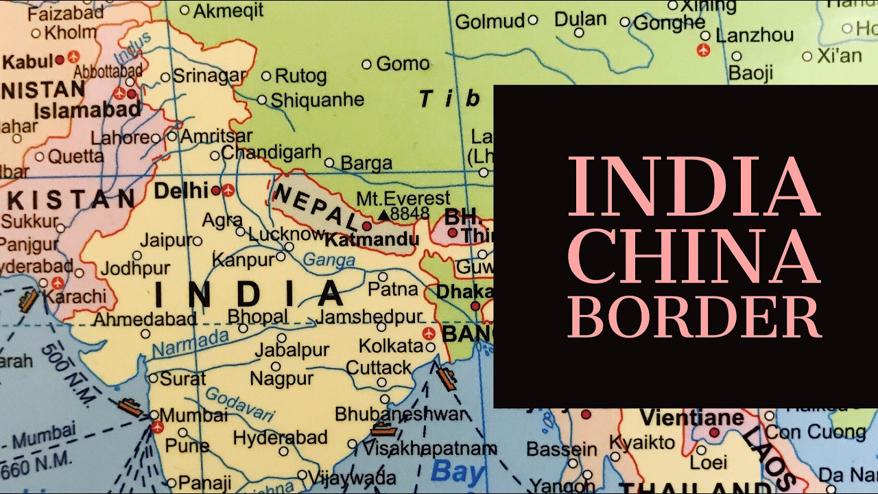 Chinese Geography India China Border Fight Chinese Water Bomb Ias Geography