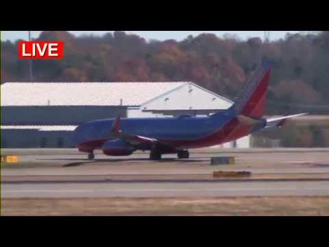 Nashville International Airport, Live Airplane Spotting, 11-19-2015