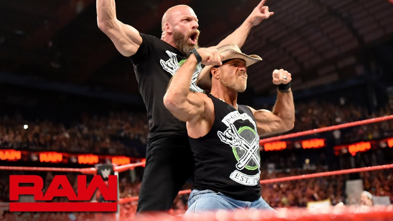 Shawn Michaels coming out of retirement as D-Generation X reunite: Raw, Oct. 8, 2018