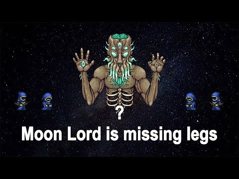 Where are Moon Lord's legs?
