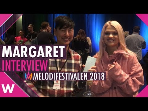 """Margaret: Melodifestivalen 2018 song """"In My Cabana"""" is """"sexy"""" (INTERVIEW)"""
