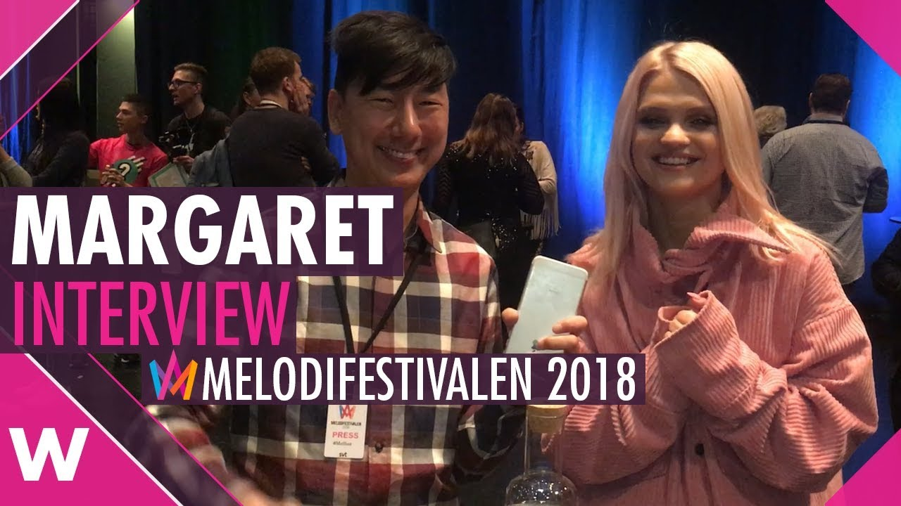 """Margaret Melodifestivalen: Margaret: Melodifestivalen 2018 Song """"In My Cabana"""" Is"""