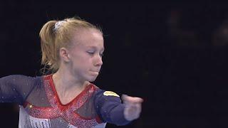 Viktoria Listunova Floor Finals 2021 European Championships