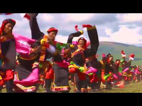 Tibetan dance : Drinda Skordro (Circle Dance)