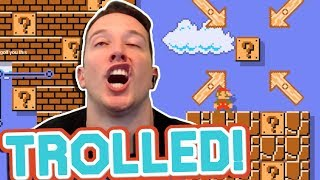The FINAL THREE TROLL Levels Of Super Mario Maker...
