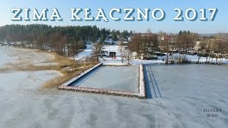 Zima Kłączno 28.01.2017 prezentacja z drona