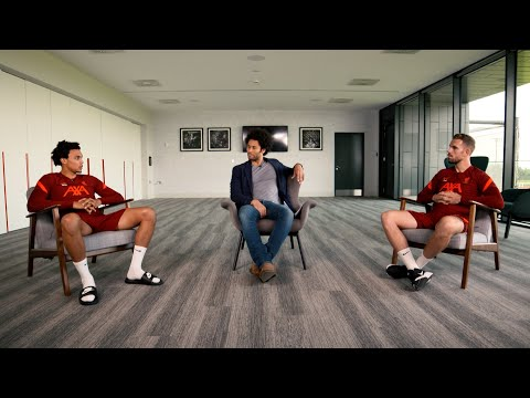 Jordan Henderson and Trent Alexander-Arnold discuss Black History Month