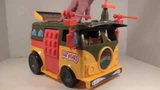 Playmates Teenage Mutant Ninja Turtles Party Wagon