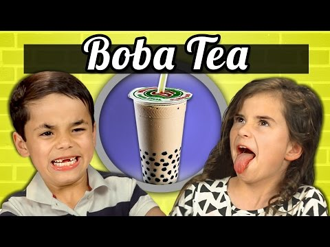 Thumbnail: KIDS vs. FOOD - BOBA TEA (BUBBLE TEA)