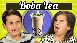 KIDS vs. FOOD - BOBA TEA (BUBBLE TEA)