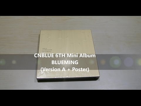 [VERSION A] 씨엔블루 - CNBLUE BLUEMING UNBOXING!