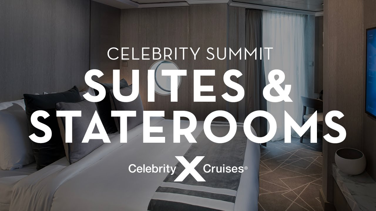 Celebrity Summit Stateroom Tour