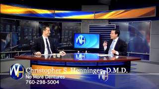 Dr. Henninger discusses Dental Implants on the Wellness Hour