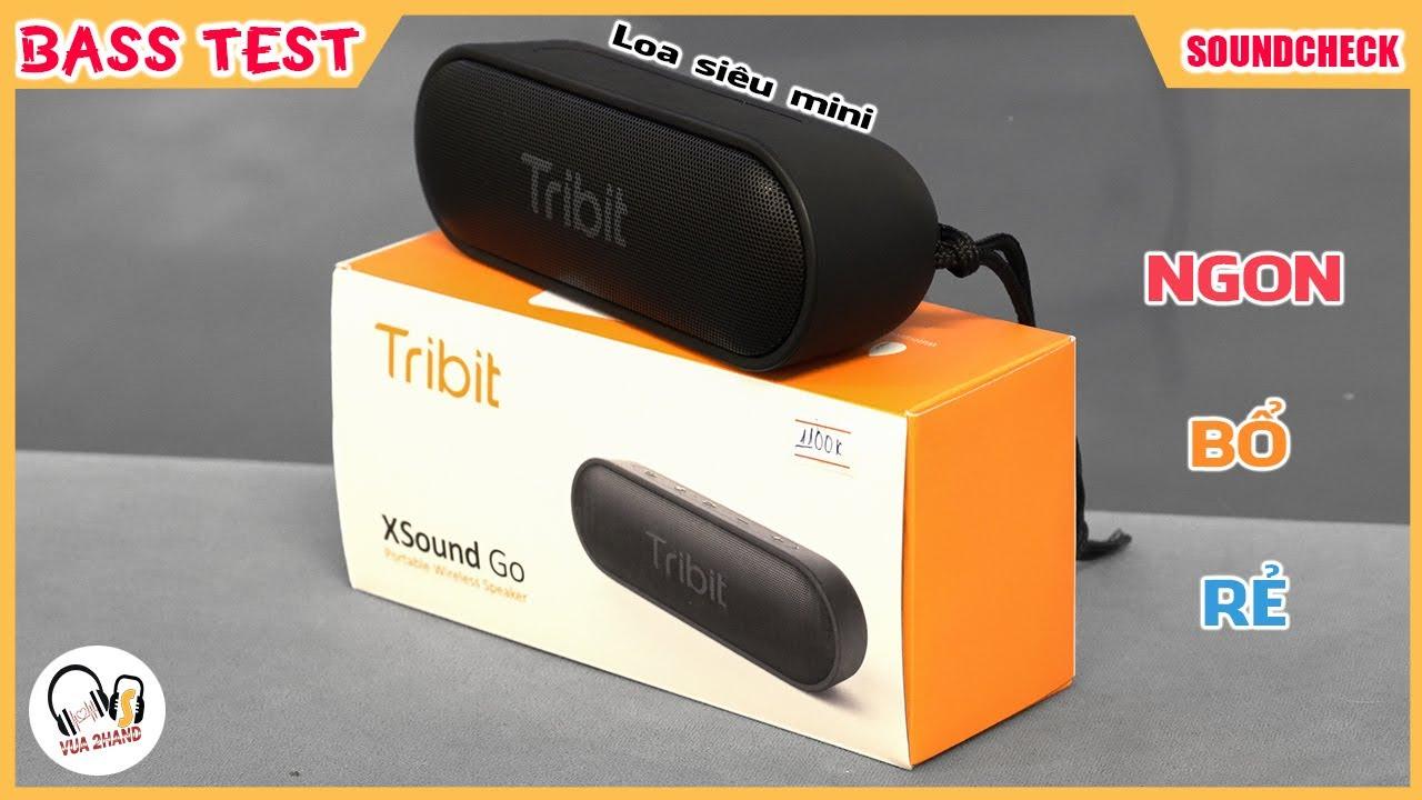 Tribit XSound Go l Loa giá rẻ siêu mini l Sound Test