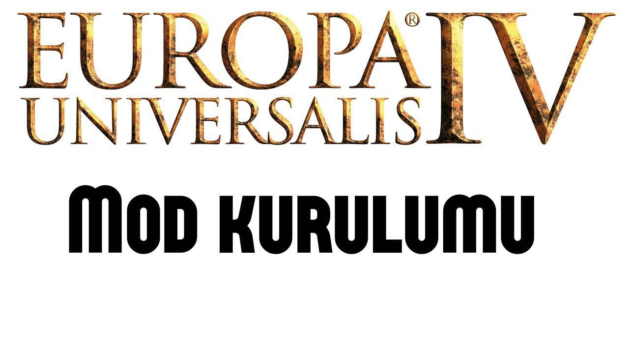 Europa Universalis 4 Mod kurulumu
