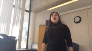 Shenandoah - performed by Megan Freitas (Mezzo- Soprano)