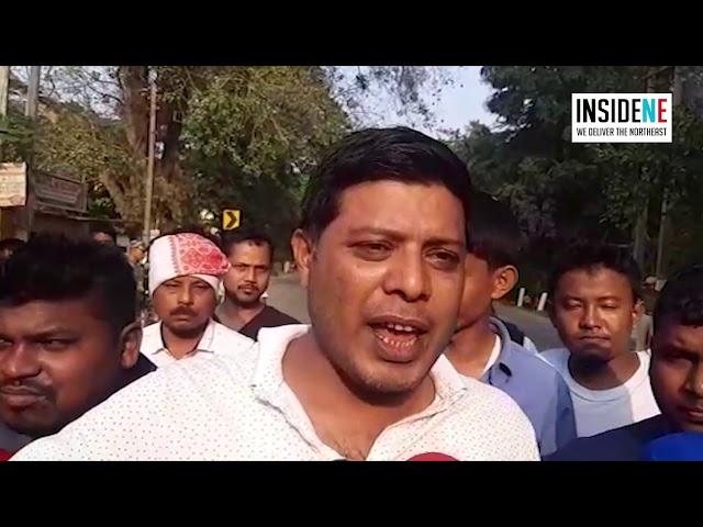 Assam: CAB Protesters Block NH 17 in Boko