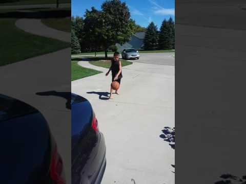 Basket ball boy versus Gog