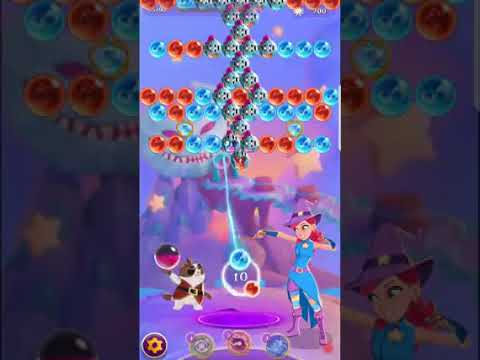 Bubble Witch 3 Saga Level 533 (First Look 👀) Boosters