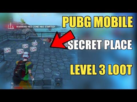 Pubg Mobile Secret Place Secret Loot ! Pubg Mobile Secret Loot Wrangle Map ! Pubg mobile Tricks