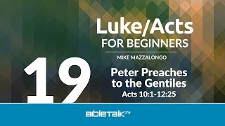 Peter Preaches to the Gentiles
