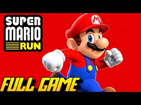 Super Mario Run - All 24 Levels (FULL Game/Complete Walkthrough)