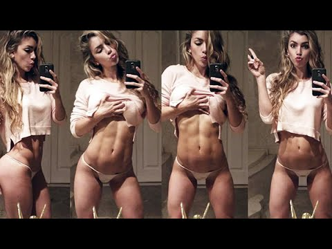 Anllela Sagra Model Fitness Colombia