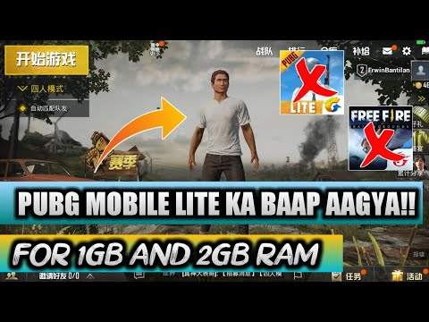NEW SURVIVAL GAME PUBG MOBILE LITE TO GAYA!! NEW BEST