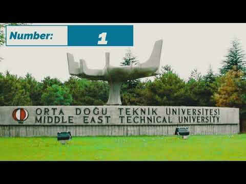 top 10 university for engineering in Turkey