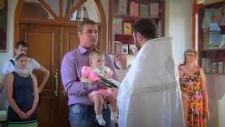 видеосъемка крестин недорого