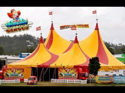 Hudson Circus Opening Night Whyalla HD  2017 Vlog