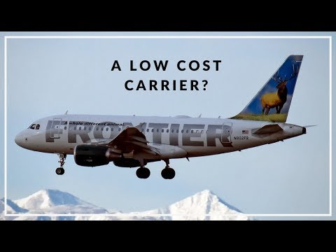 Why did Frontier Airlines become a low-cost carrier?
