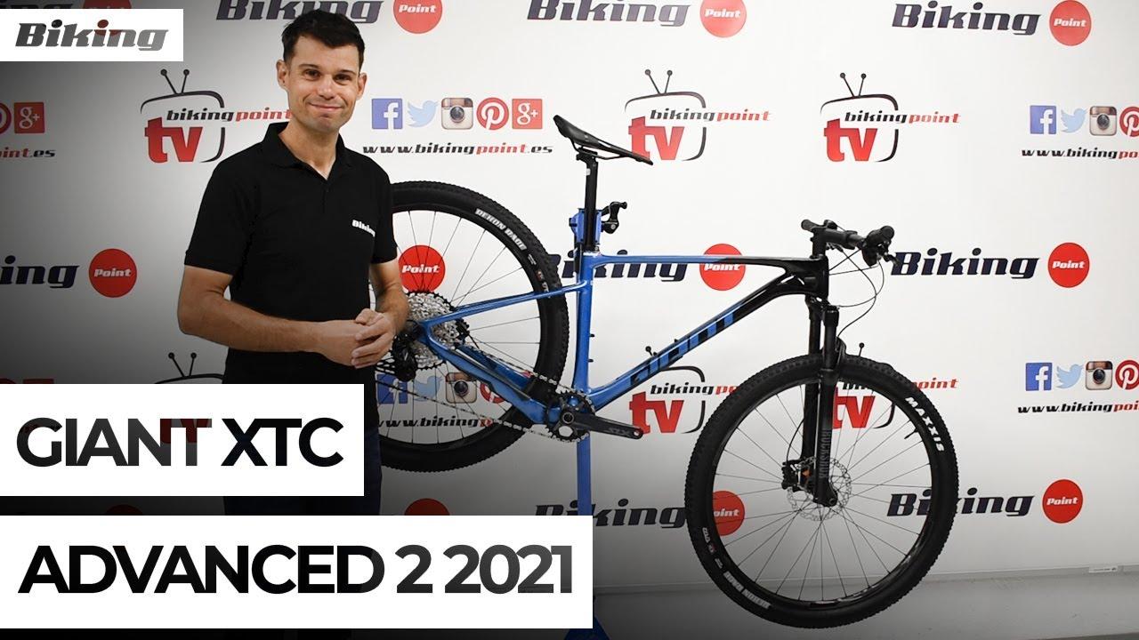 Bicicleta Giant XTC Advanced 2 2021 | Presentación