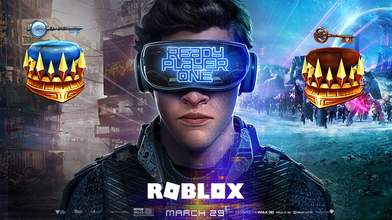 New Ready Player One Roblox Event Announcement Warner Brothers Sponsored Youtube