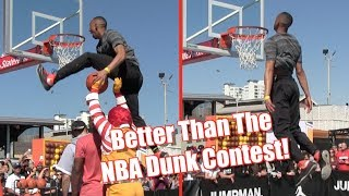 Jonathan Clark Would DESTROY The NBA Dunk Contest! Video