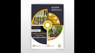 II dalis - Karpių gaudymo varžybos - taktika ir strategija. Olego Ruzickio seminaras II dalis