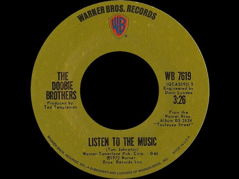 Doobie Brothers ~ Listen To The Music 1972 Disco Purrfection Version