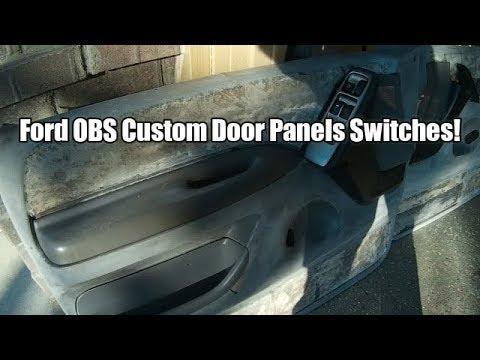 Ford Obs 73 Door Panel Repair Interior Mods Part 2 Youtube