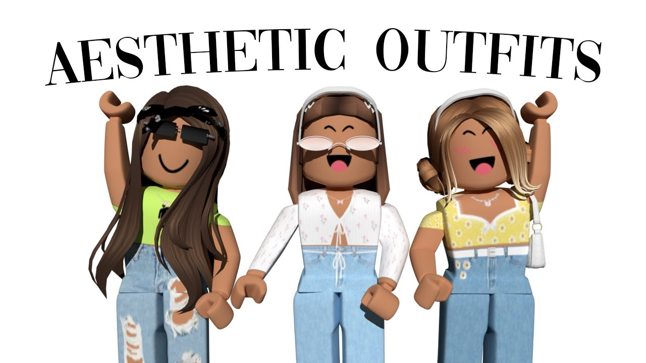 Aesthetic Roblox Outfit Ideas *WITH CODES* YouTube