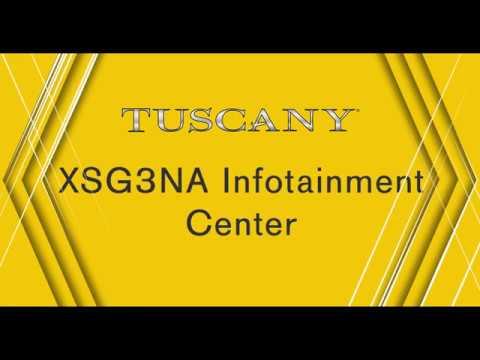Thor Motor Coach - Tuscany XAG3NA Infotainment Center User Guide