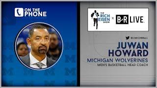 Juwan Howard Talks Return to Michigan, Fab Five & More w/Rich Eisen | Full Interview | 5/31/19