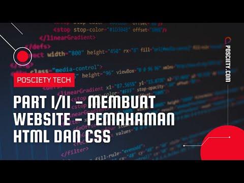 Membuat Website - Part 1/11 (Memahami Dasar HTML CSS)