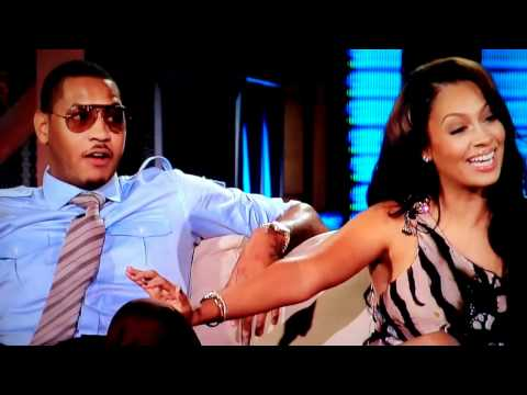 Carmelo Anthony and LaLa Vasquez on George Lopez