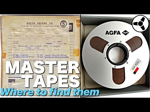 MASTER TAPES: Where To Find Them