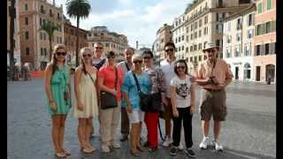 Rome, Italy - Walking Tour Part I - July 26, 2015