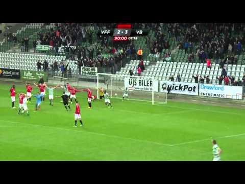 Friis' vanvittige scoring mod Vejle